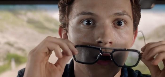 "Том Холланд украл очки Старка со съемочной площадки ""Человека-паука"""