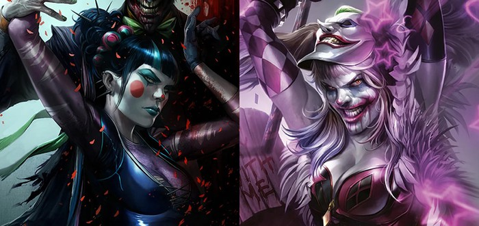 DC Comics готовит новую девушку Джокера и Харли Квинн к первому столкновению