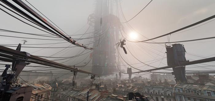 Игрок Half-Life: Alyx забрался на вершину Цитадели и забыл, что находится в игре