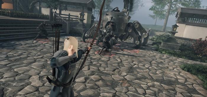 Самураи против механических пауков в первом геймплее тактической стратегии Shadow of the Road