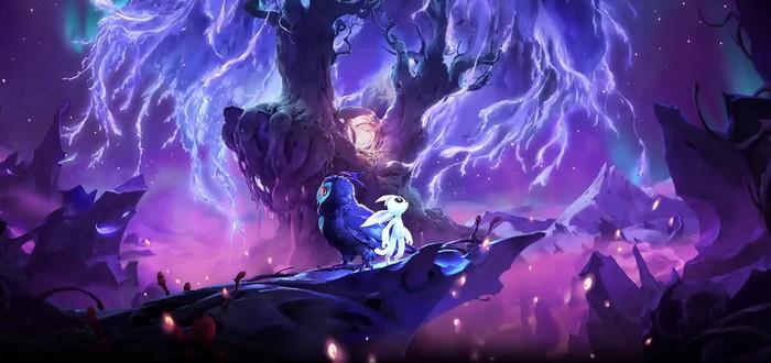 Взросление милого совенка и буря в джунглях в геймплее стартовых минут Ori and the Will of the Wisps