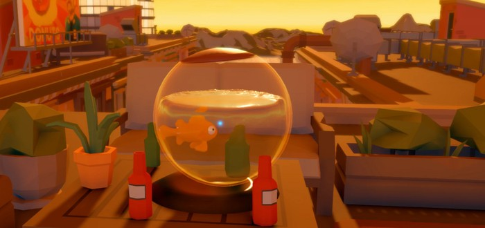 Первый трейлер I Am Fish — головоломки о рыбке в аквариуме
