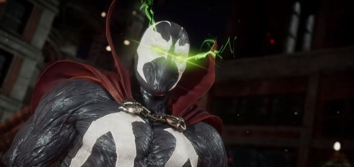 Фаталити, бруталити и победные стойки Спауна в Mortal Kombat 11