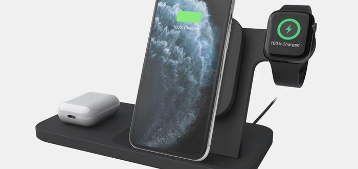 Logitech выпустила зарядную станцию для гаджетов Apple