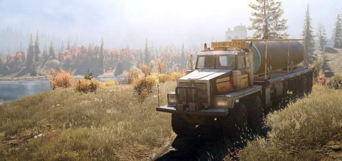 Полуостров Таймыр в новом геймплее SnowRunner