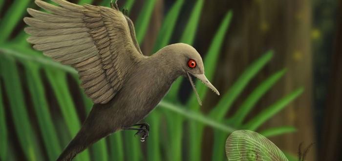 В янтаре нашли динозавра размером с колибри
