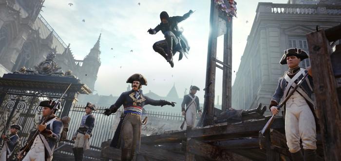 EMEAA-чарт: Assassin's Creed Unity попала на первое место благодаря ошибке в Steam
