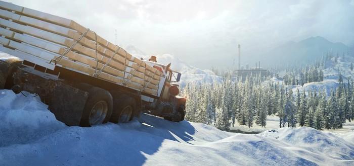 Лед, грязь и реки — обзорный трейлер SnowRunner