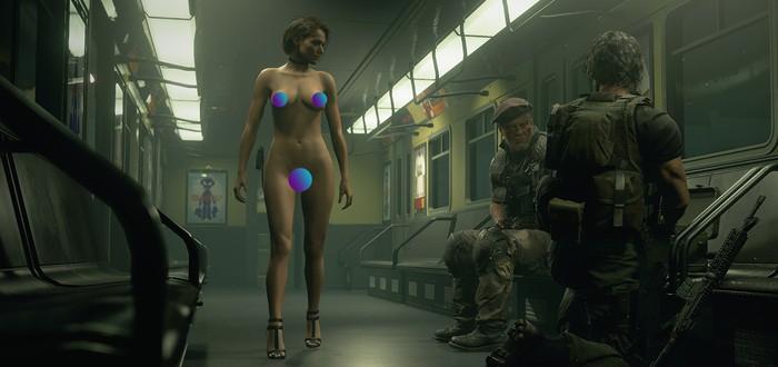 Для демо Resident Evil 3 уже вышел мод с обнаженной Джилл