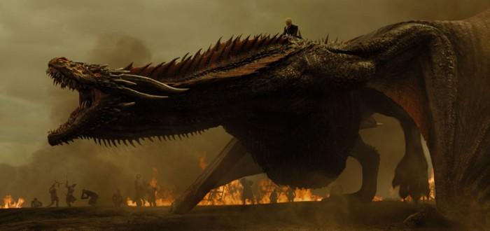 """В """"Мире Дикого Запада"""" показали дракона из """"Игры престолов"""""""