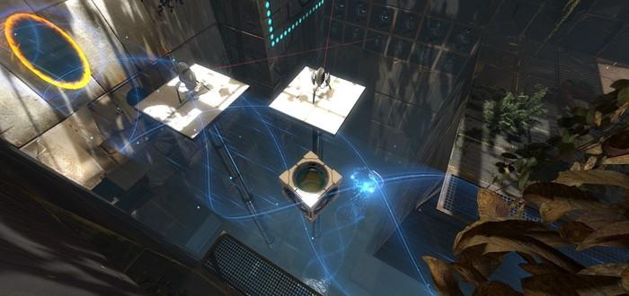 Valve хотела перенести Portal в VR, но это не сработало