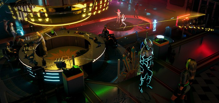 10 минут геймплея ролевой игры Gamedec о VR-детективе