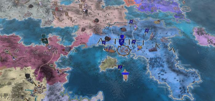 Завоевание Древней Греции в трейлере 4X стратегии Imperiums: Greek Wars