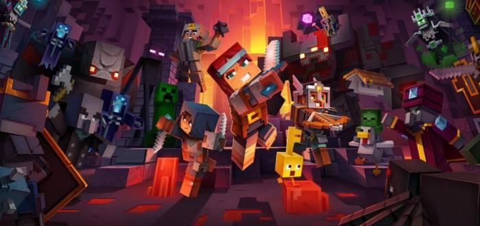 Первые 45 минут Minecraft Dungeons