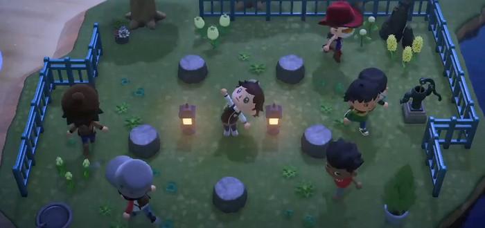 Фанаты Animal Crossing провели в New Horizon соревнование по музыкальным стульям
