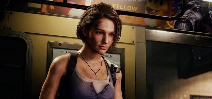 Джилл против пауков — 17 минут геймплея Resident Evil 3