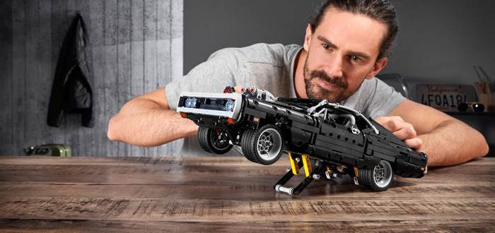 "LEGO показала Dodge Charger из ""Форсажа"""