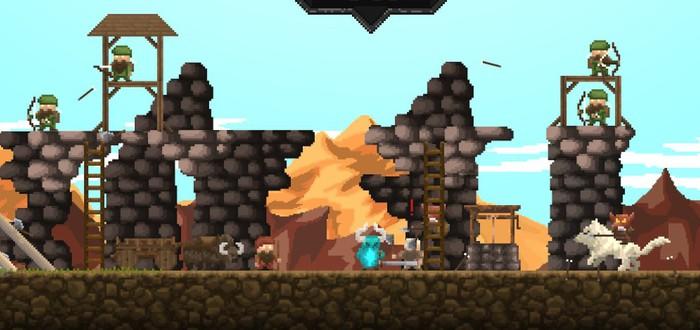 В Steam началась раздача сайд-скроллера о гномах Regions Of Ruin