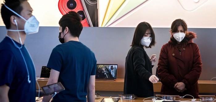 Apple намерена выпускать миллион медицинских масок еженедельно
