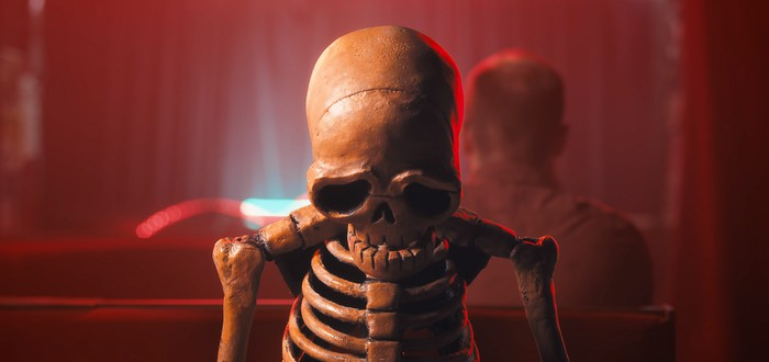 Потрясающая короткометражка  про грустного скелета
