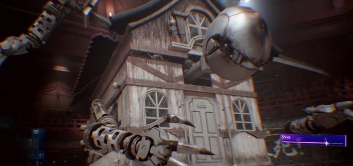 10 минут геймплея из ремейка Final Fantasy 7 — сражение с ходячим домом