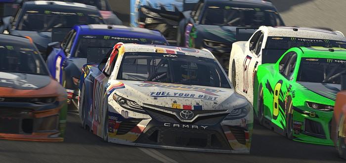 Водитель NASCAR в ярости покинул виртуальную гонку и остался без спонсора