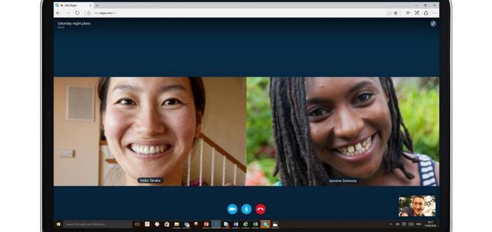 В Skype можно совершать видеозвонки без регистрации и скачивания приложения