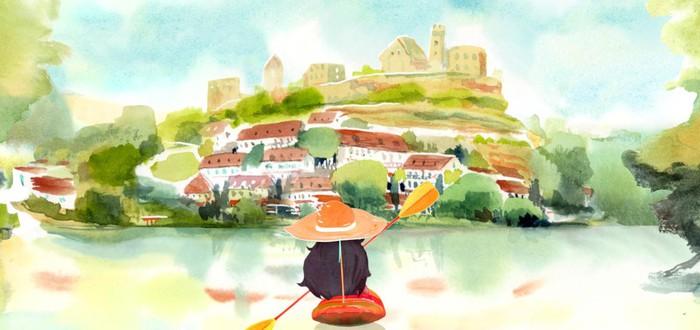 В акварельной 3D-аденчуре Dordogne игроки помогут героине собрать дневник воспоминаний