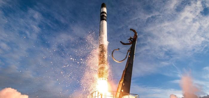 """Rocket Lab доказала, что может """"ловить"""" ракеты в воздухе"""