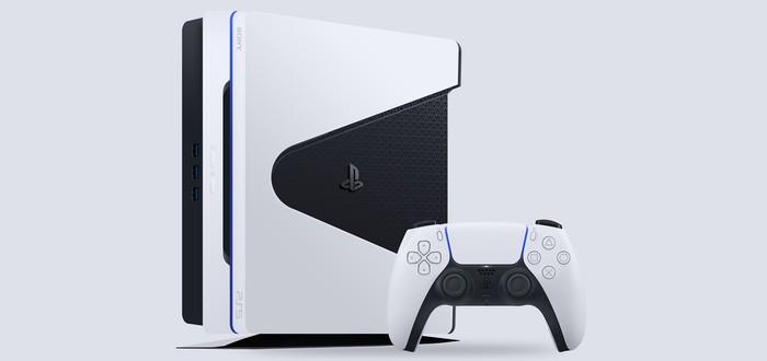 Еще один фанатский дизайн PS5 в стиле контроллера DualSense