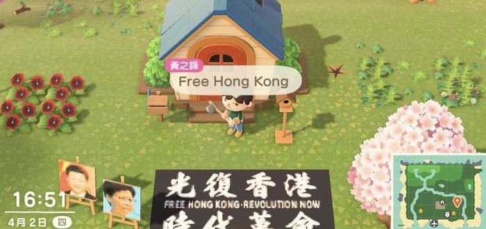 Китай забанил Animal Crossing из-за протестующих в Гонконге