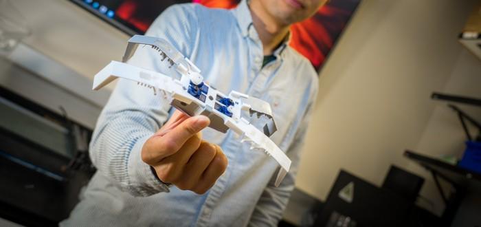 Ученые научились быстро печатать робонасекомых