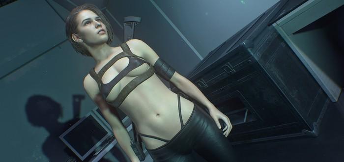 Русская модель, подарившая внешность Джилл из Resident Evil 3, не против эротических модов