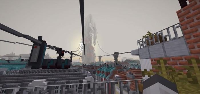Команда моддеров переносит Half-Life: Alyx в Minecraft