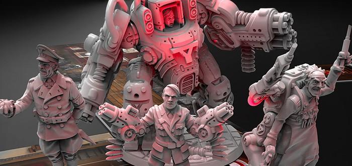 Настольная игра по Wolfenstein была проспонсирована на Kickstarter за несколько часов