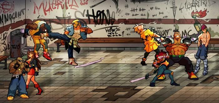 Драки, пиксельные персонажи и ретро-саундтрек в новом геймплее Streets of Rage 4