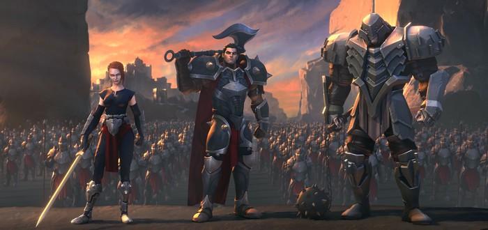 Короли будут повержены — победа Ноксуса в новом сюжетном ролике Legends of Runeterra
