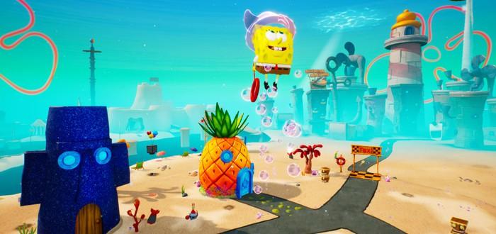 Новый геймплейный трейлер ремейка SpongeBob SquarePants: Battle for Bikini Bottom, релиз 23 июня
