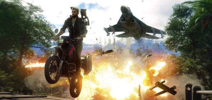 В Epic Games Store началась раздача Just Cause 4
