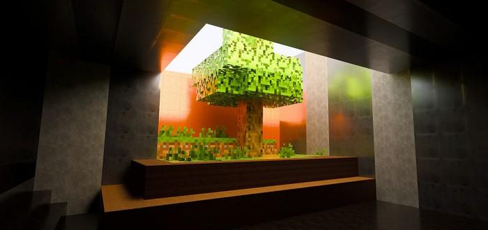 Видео: Как бы выглядел трейлер Minecraft 2011 года с трассировкой лучей