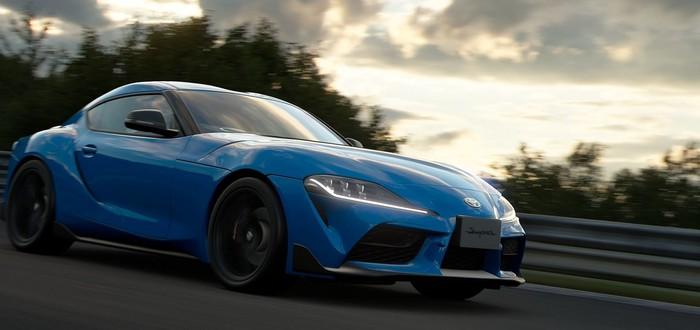 В Gran Turismo Sport появится Toyota GR Supra RZ '20