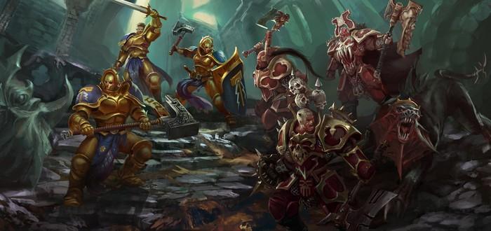 Грозорожденные, хаос, орки и нежить сражаются друг с другом в релизном трейлере Warhammer Underworlds: Online