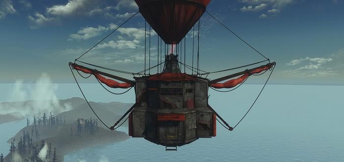 Игрок Fallout 4 потратил более 100 часов на создание летающего бункера
