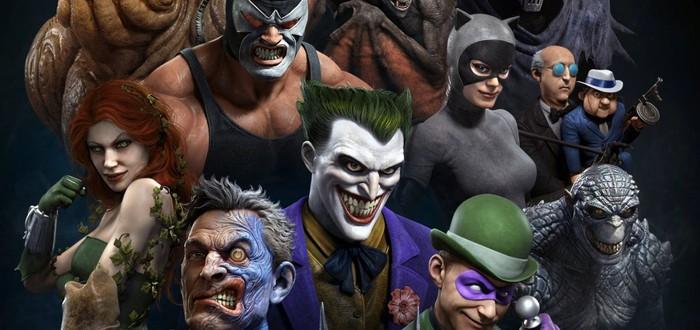 Арт-директор God of War нарисовал Бэтмена и суперзлодеев DC в   стиле мультсериала 1992 года