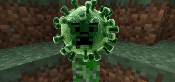 Для Minecraft вышла карта с симуляцией пандемии