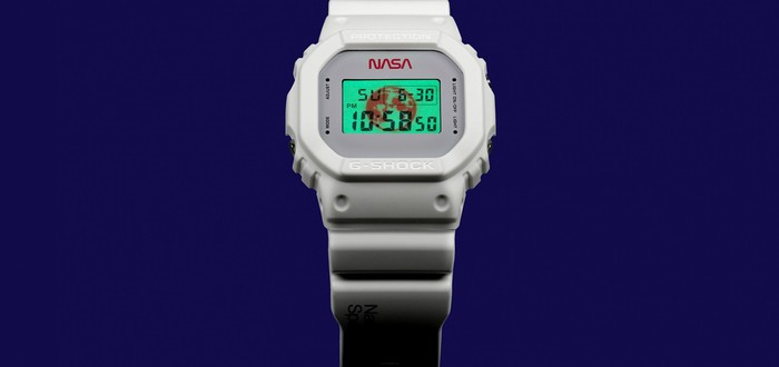 Casio выпустила часы для поклонников NASA и космоса