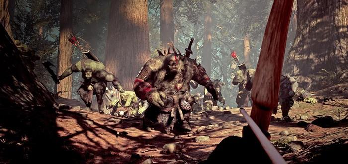 Отстрел орков в тизере симулятора лучника Archer: The Witch's Wrath
