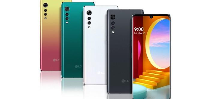 LG анонсировала смартфон Velvet с оригинальным дизайном
