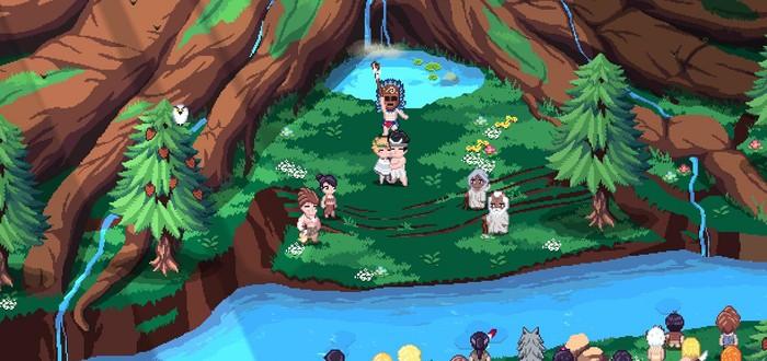Создание доисторической деревни в первом трейлере пиксельной песочницы Roots of Pacha