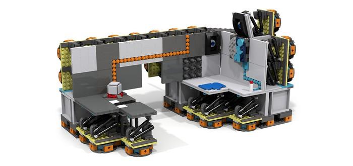 Фанаты создали набор LEGO Portal и собирают поддержку для его выпуска